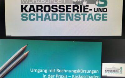 Fortbildung bei den Würzburger Karosserie- und Schadenstagen.  Unfall gehabt? Da…